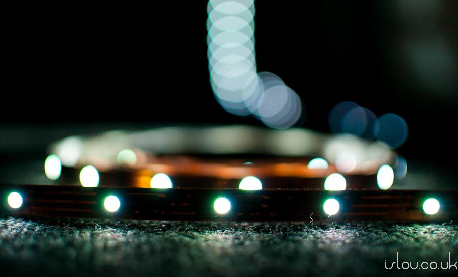"""RGB LED Strip set to """"White"""""""